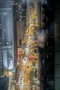 O visa - USA - Chicago lights