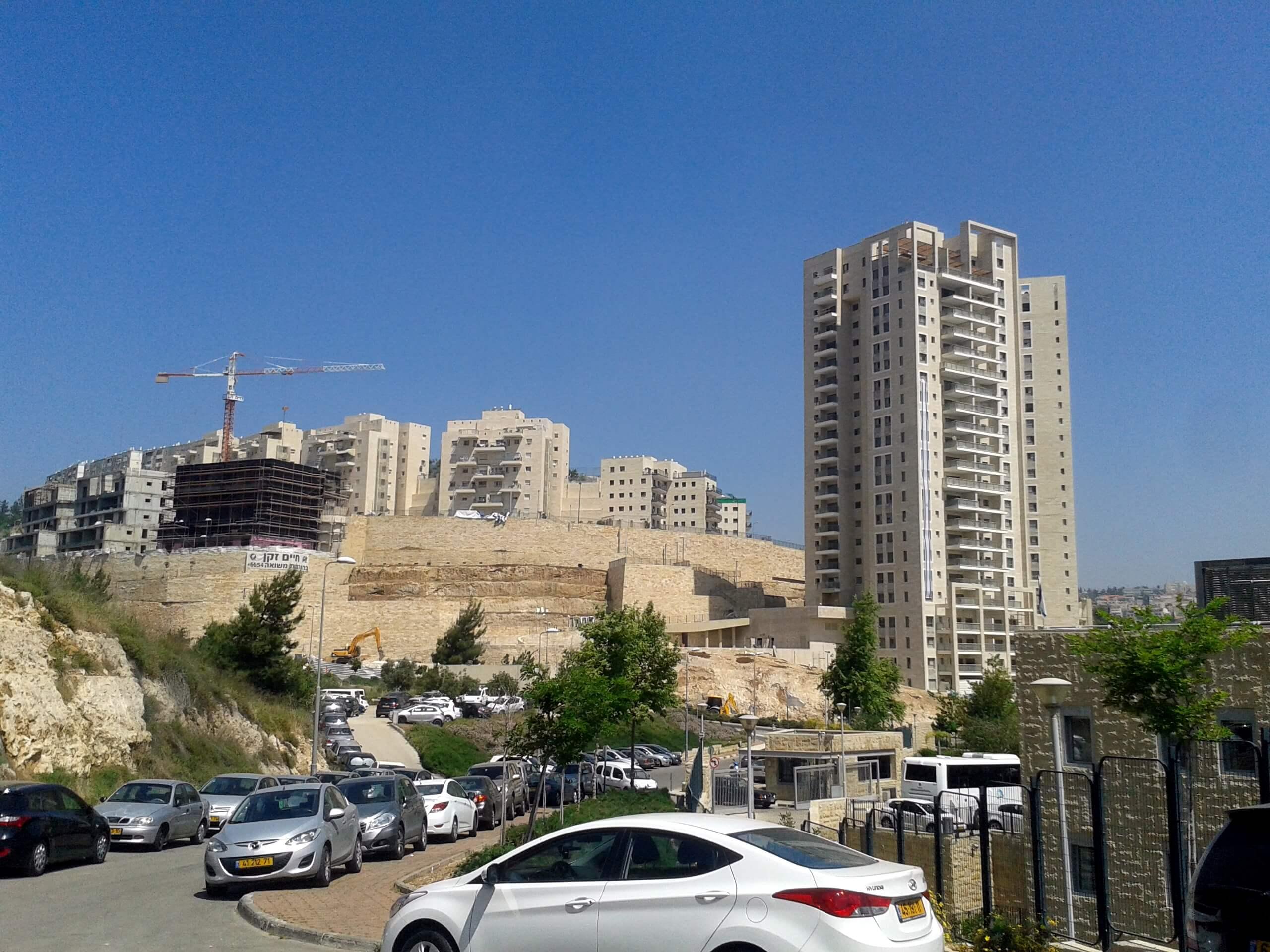 Israeli Municipal building plan