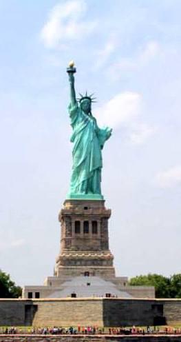 ויזת משקיע לארהב , פסל החירות - ניו יורק