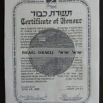 Righteous Among the Nations Visa - Residence permit in Israel
