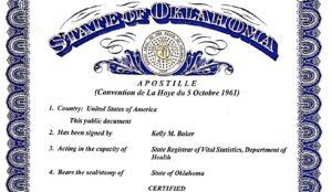 Apostille - Vérification des documents étrangers en Israël et des documents israéliens à l'étranger