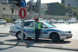 משטרה - מכשיר מד לייזר